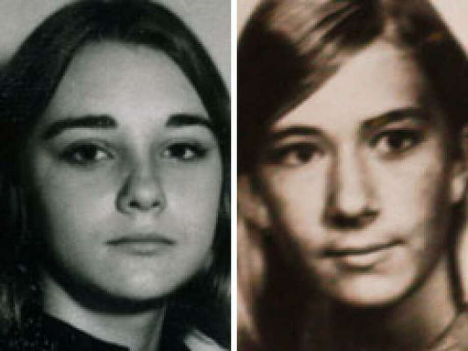 Sharon Shaw, left, and Rhonda Johnson were 14 when they vanished. Photo: Family Photos