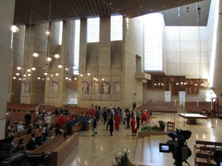The investiture was held at the Rafael Moneo-designed Cathedral of Our Lady of Angels in Los Angeles. Photo: Douglas Britt, ALL