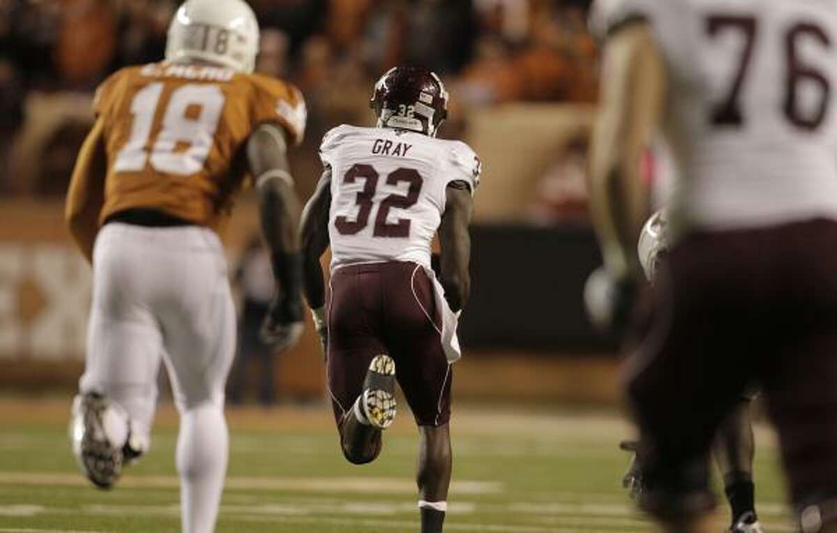 A&M seeks to leave its rival Texas behind in the Big 12.