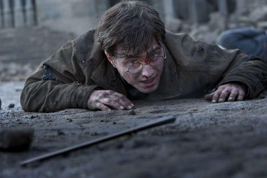 Harry Potter (Daniel Radcliffe) has a final showdown with his nemesis Voldemort in Part 2. Photo: Jaap Buitendijk, Warner Bros.