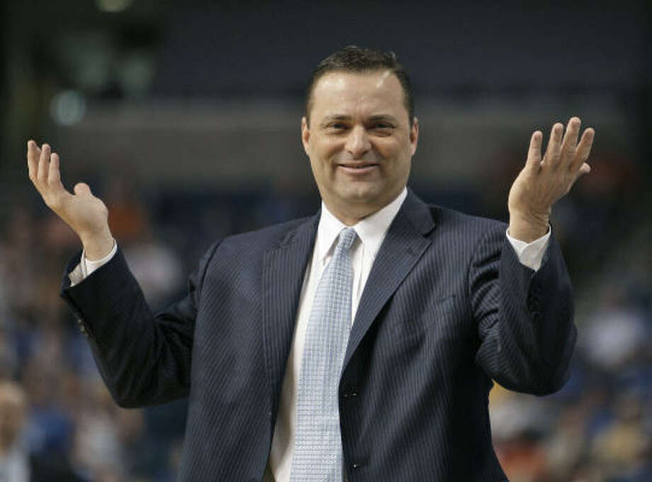Former A&M basketball coach Billy Gillispie resigned from the same position at Texas Tech. Photo: Chris O'Meara, AP