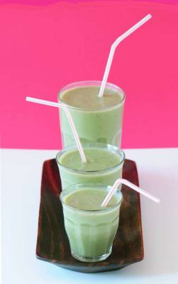 Green Energy smoothies are dairy-free but loaded with calcium. Photo: JENIFER ALTMAN
