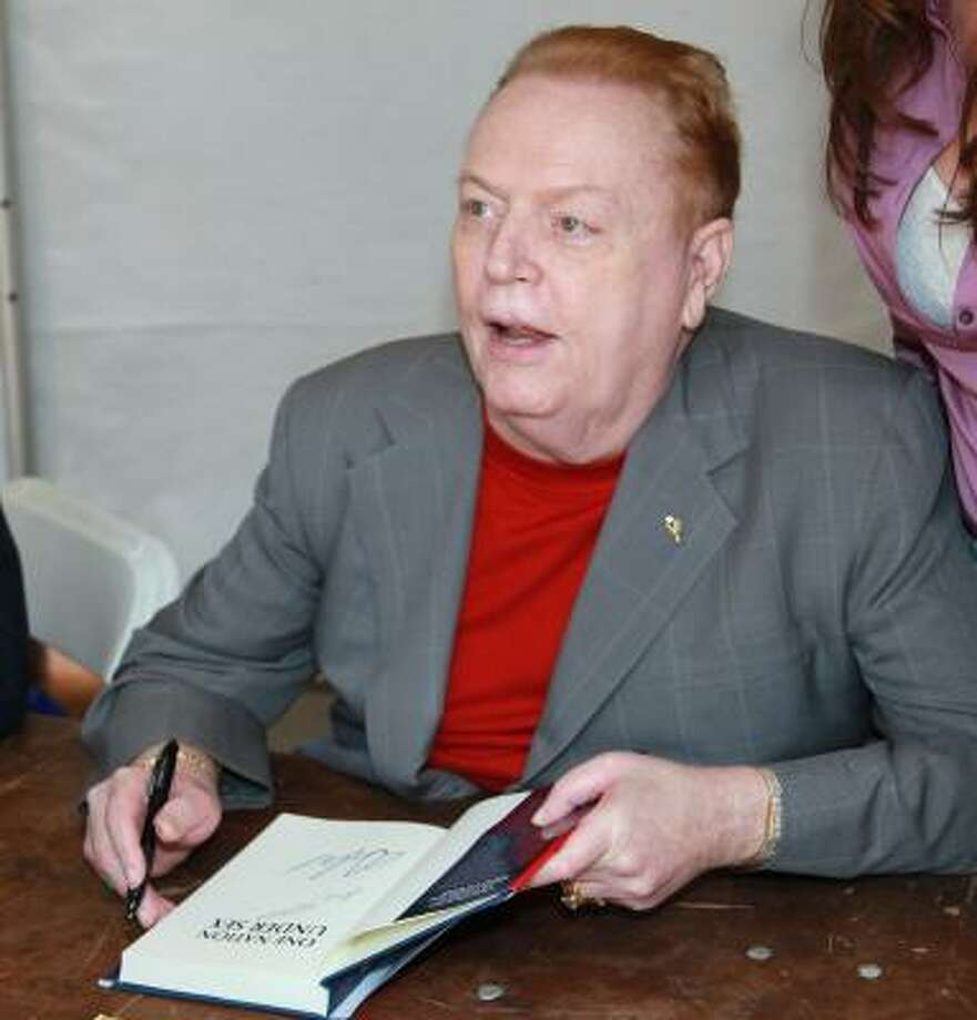 Larry Flynt is known as publisher of Hustler magazine, but he has also written several books. Photo: David Livingston, Getty