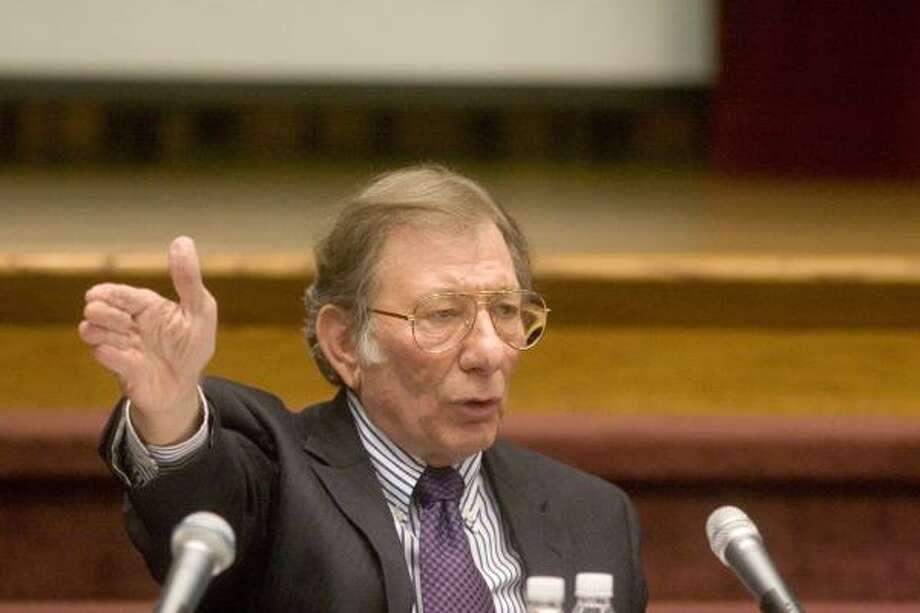 Stafford Mayor Leonard Scarcella