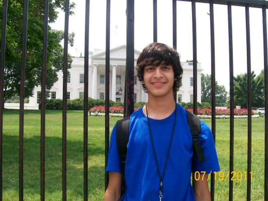 CAPITAL CELEBRATION: Gabriel Gaucin celebrated his 16th birthday while attending the Future Latino Leaders Law Camp in Washington, D.C. Photo: Courtesy, Gabriel Gaucin