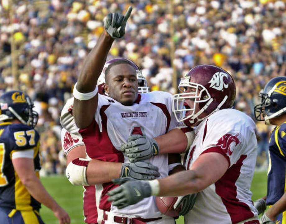 Devard Darling played for  Washington State and was drafted in the third round by Baltimore in 2004. Photo: Paul Sakuma, Associated Press