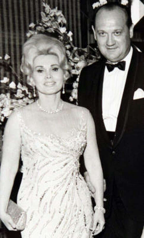 Erik Worscheh welcomed celebrities such as Zsa Zsa Gabor at the Shamrock Hilton. Photo: Courtesy Of The Family
