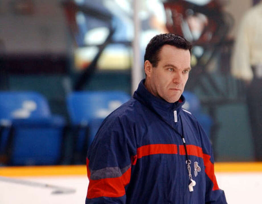 John Torchetti served a stint as a coach in the NHL when he led the Florida Panthers. Photo: J. PAT CARTER, AP