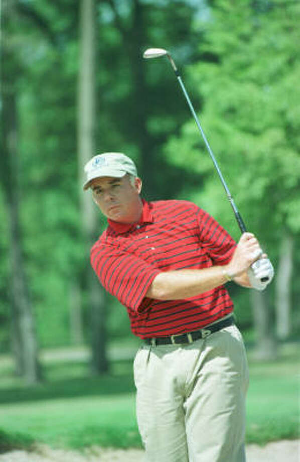 Local golfer Brad Lardon qualified for the PGA Championship. Photo: Betty Tichich, Houston Chronicle