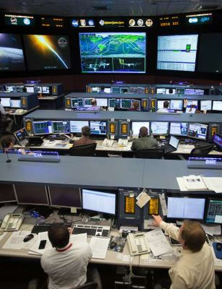 Mission Control for the International Space Station is the last of Johnson Space Center's three main programs, which included the shuttle and the now-canceled Constellation. Photo: Smiley N. Pool, Chronicle File