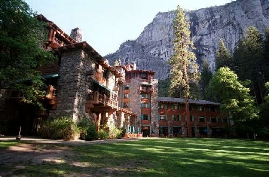 The Ahwahnee Hotel, Yosemite National Park. Photo: St. Louis Post Dispatch