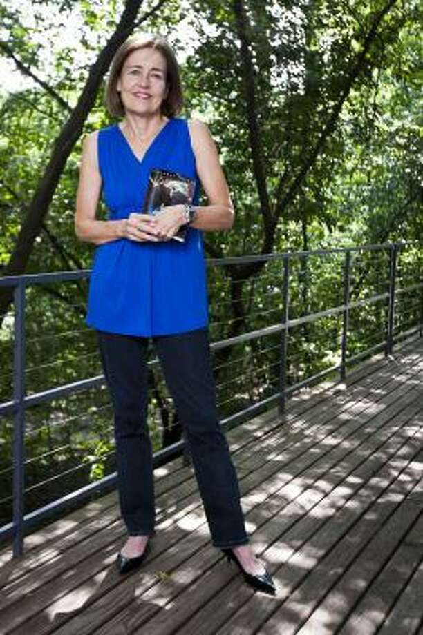 Andrea White, author and former first lady of Houston has recently published Windows on the World, a sci-fi story for young adults. Photo: Patrick T Fallon, Houston Chronicle