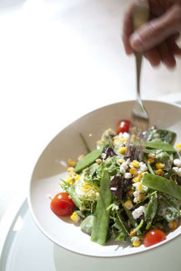 Add green salad to your diet. Photo: Julie Soefer