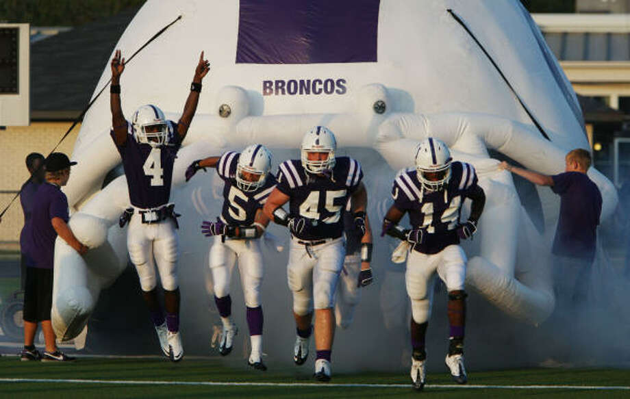 The Dayton Broncos are seeking to reach the playoffs for the 16th straight year. Photo: Julio Cortez, Chronicle
