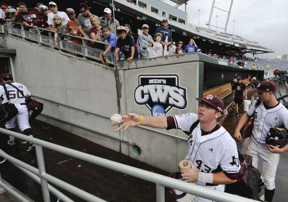 Texas A&M left Omaha after losing two games, but the Aggies do not expect another 12-year absence. Photo: Eric Francis, Associated Press