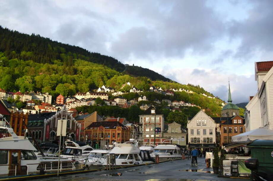 Bergen is a picturesque port city in Norway. About 300 cruise ships make the city a port of call every year. Photo: Sarah Tressler