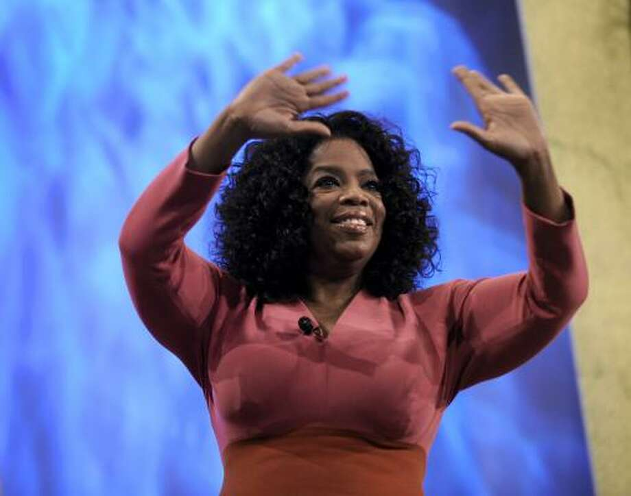 Oprah Winfrey says the move to get an interview with O.J. Simpson is designed to demonstrate that she is committed to making the OWN network successful. Photo: Paul Beaty, Associated Press