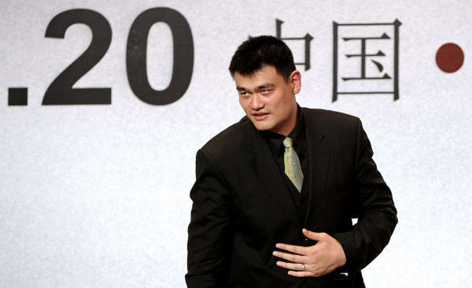 Yao Ming's playing days have come to an end, but he's not walking away from the sport. Photo: PHILIPPE LOPEZ, Getty