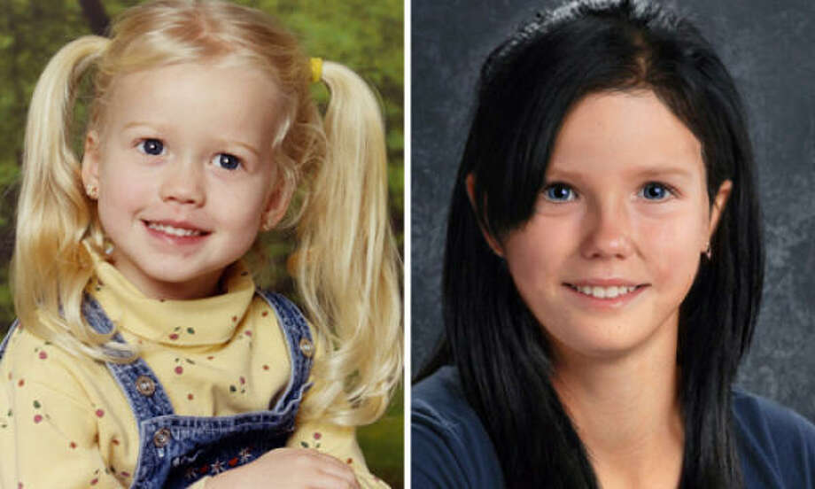 Sabrina Allen was just 4 years old when she was abducted by her mother in 2002. The photo at right is a computer-generated image of what Sabrina might look like today. Photo: Family Photo; National Center For Missing And Exploited Children