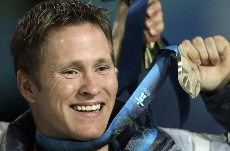 Jeret Peterson claimed a silver medal during a high point in his tumultous life. Photo: Gerry Broome, Associated Press