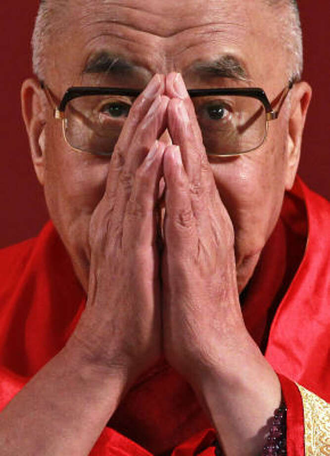 THE DALAI LAMA Photo: SAURABH DAS, ASSOCIATED PRESS