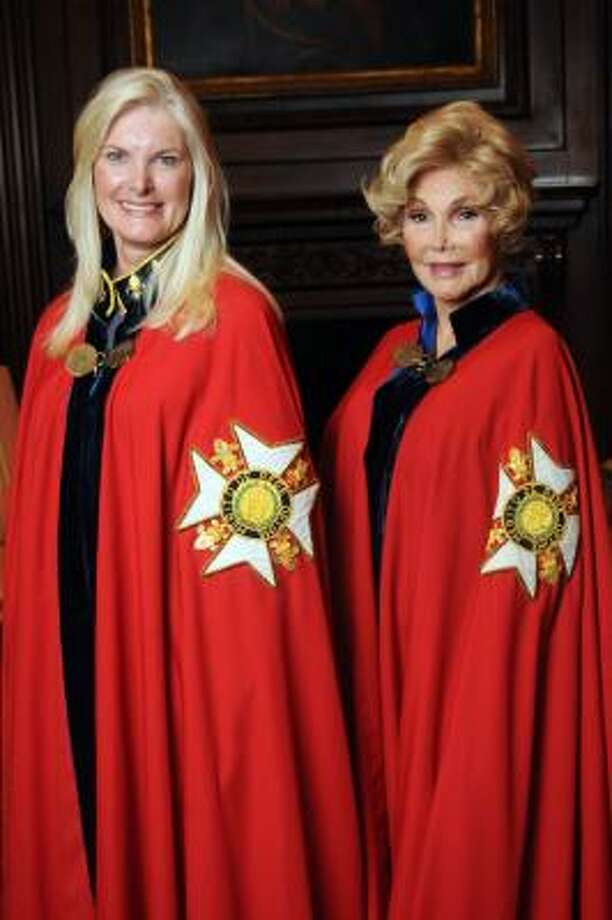 Mica Mosbacher, left, and Joanne King Herring Photo: Dave Rossman, For The Chronicle
