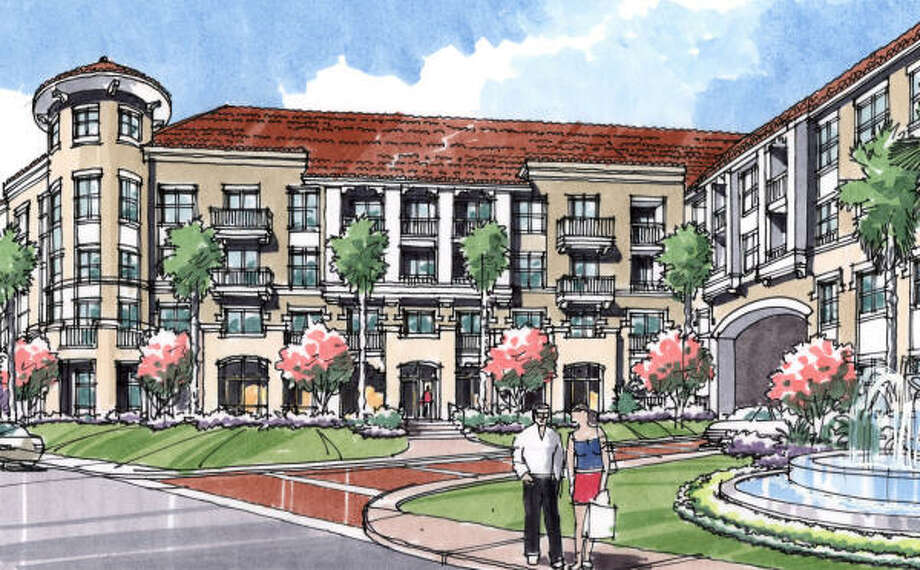 Archstone has started construction of apartments at the former home of the Arabia Shrine Center. Demand for apartments has been high in the Houston area. Photo: Archstone