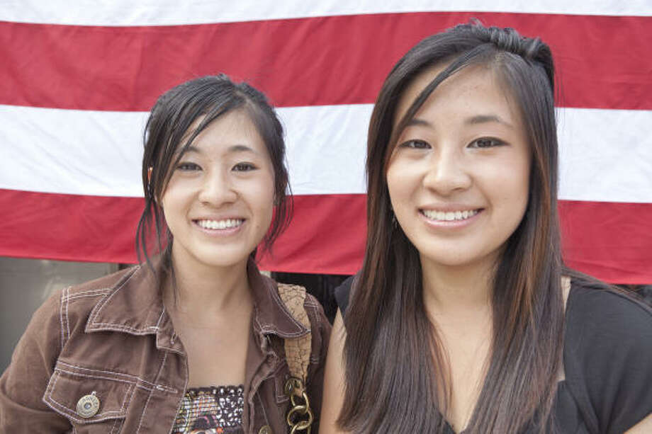 Robin Yang, left, and Ruby Yang are featured in Alexandra Pelosi's documentary, Citizen USA: A 50-State Road Trip. Photo: ALEXANDRA PELOSI, COURTESY OF HBO