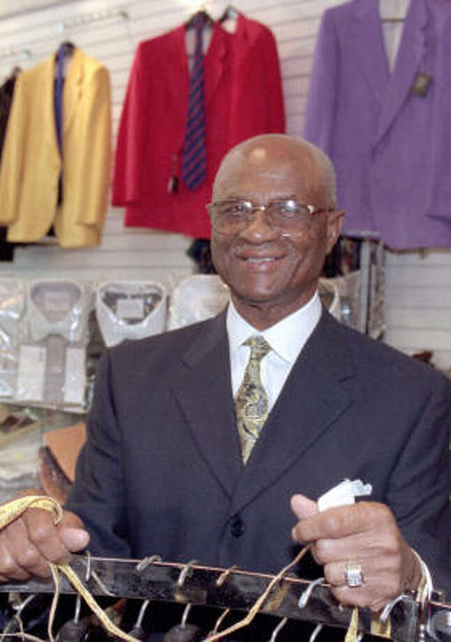 Booker T. Caldwell never complained about business setbacks, said his son, the Rev. Kirbyjon Caldwell. Photo: Chronicle File