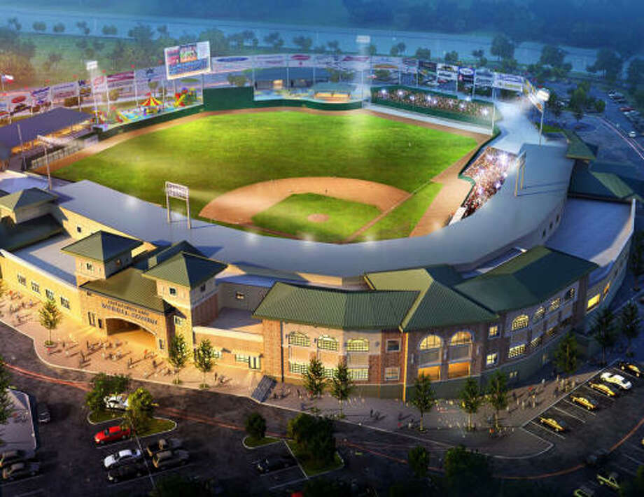 This rendering shows what StarTex Power Field will look like when it is completed.