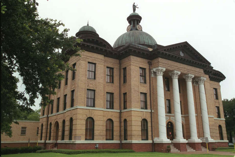 The Fort Bend County Courthouse was built 102 years ago. Photo: Chronicle Photo File