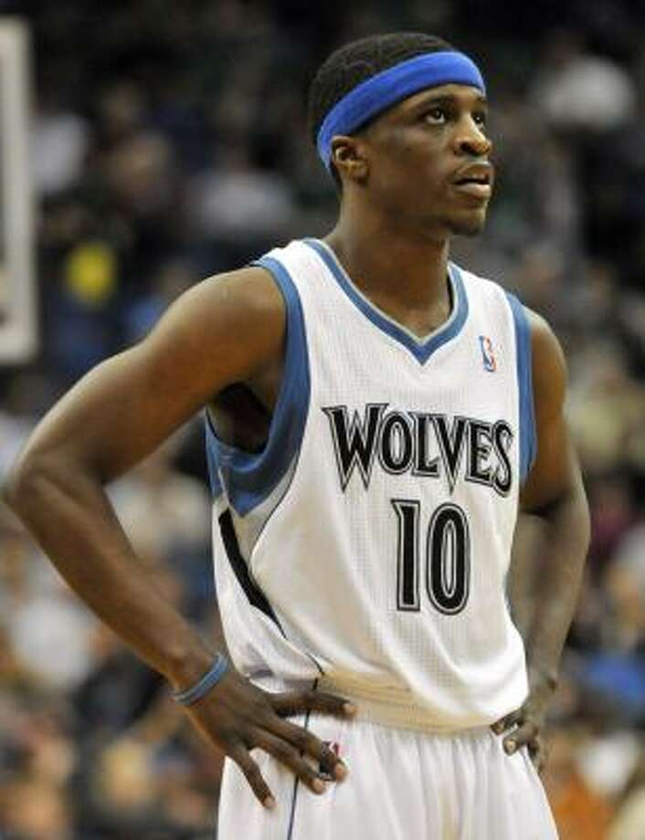 The Rockets acquired point guard Jonny Flynn in a draft night deal that sent Brad Miller to the Timberwolves. Photo: Jim Mone, Associated Press