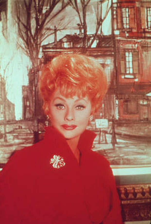 Lucille Ball, who would have turned 100 on Saturday, won four Emmys and was inducted into the Television Hall of Fame. Photo: Lifetime