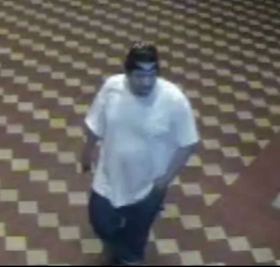Authorities have released this surveillance photo in the case. Photo: Crime Stoppers