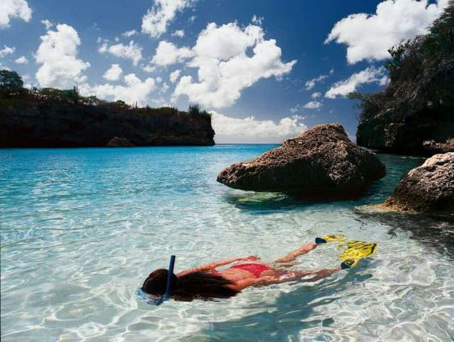 Snorkeling is a popular activity on Curacao. Photo: Curacao Tourism Corp