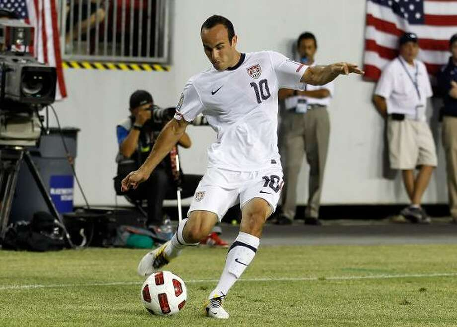 Landon Donovan has long been the face of American soccer. Photo: J. Meric, Getty