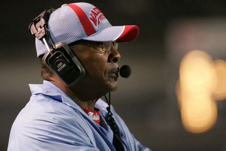 Ray Seals was named HISD's Coach of the Year 10 times. Photo: Matthew White, For The Chronicle