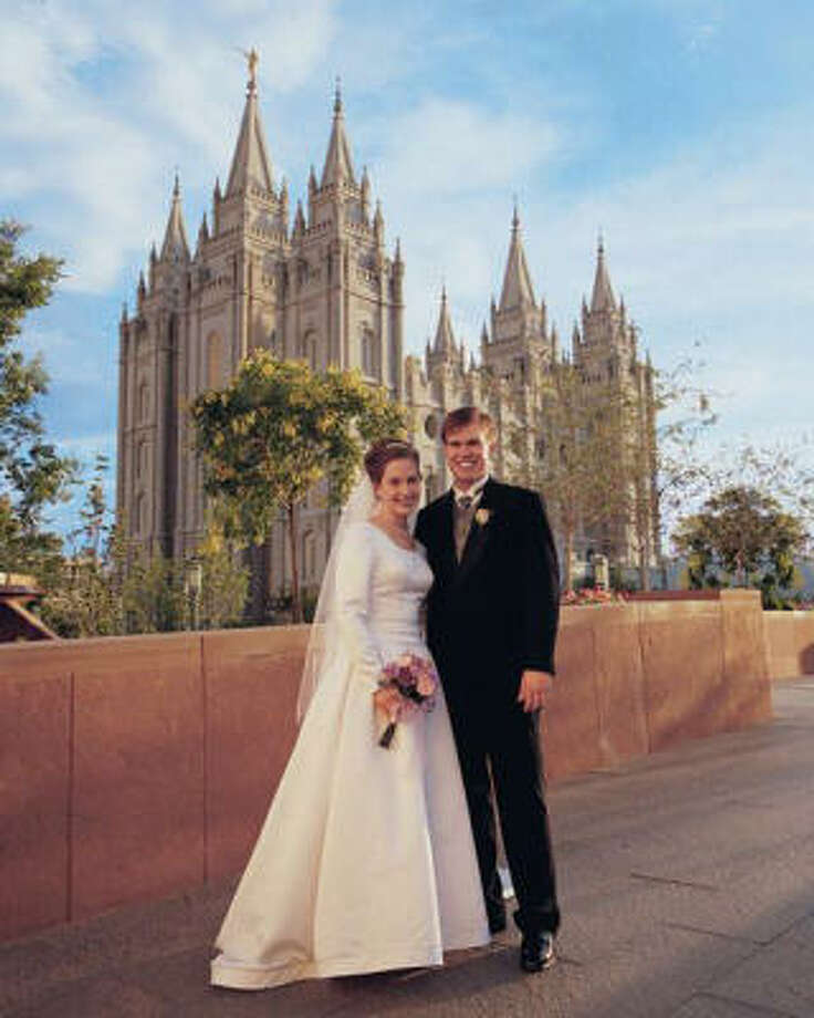 Mormons teach that earthly marriages are sealed for eternity, which can make it especially hard to be single or divorced in a church where marriage and family are paramount. Photo: RELIGION NEWS SERVICE