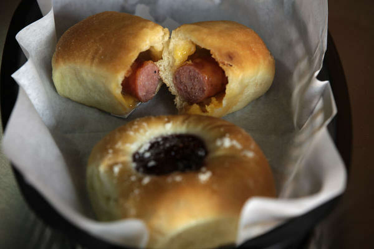 Kolaches were brought to Texas by Czech immigrants.