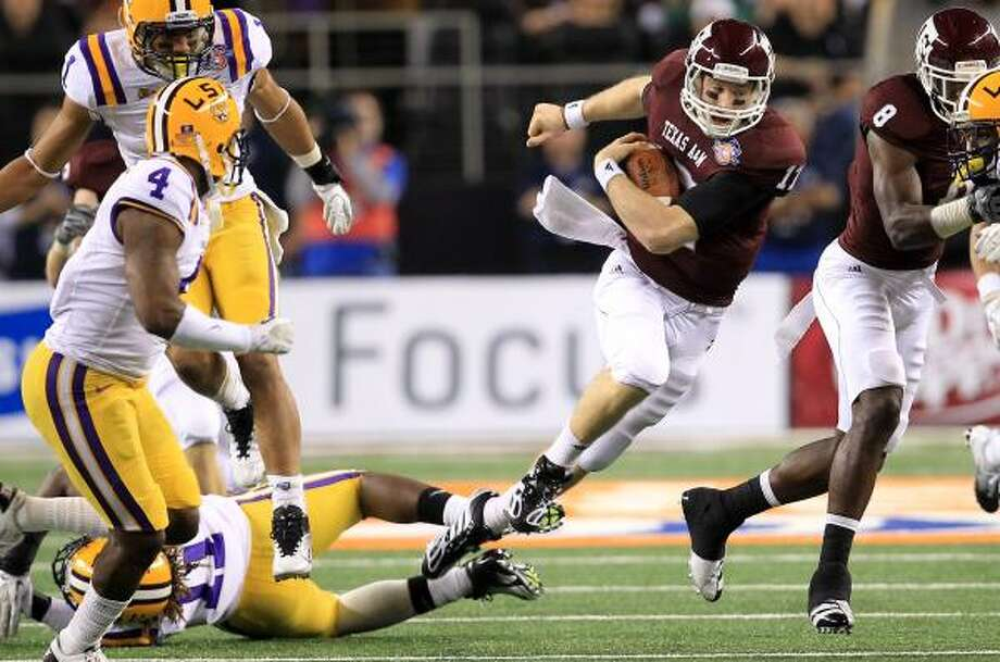 The Aggies hope to begin SEC play as soon as 2012. Photo: Nick De La Torre, Chronicle