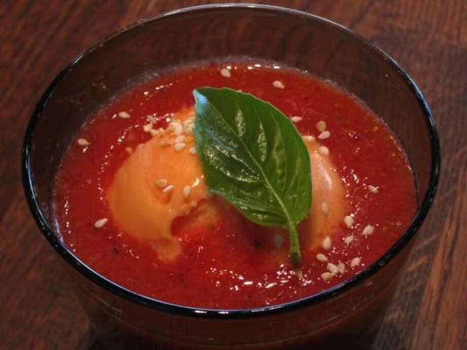Sopa de Fresa Photo: Mario Carmona
