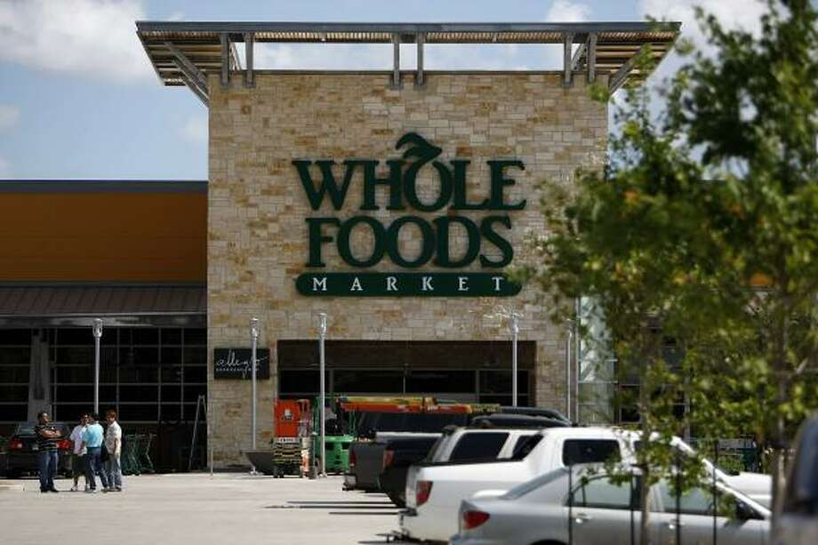 No. 42 Whole Foods Market ranked as the 42nd-best workplace in the nation. Photo: Johnny Hanson Photos, Chronicle