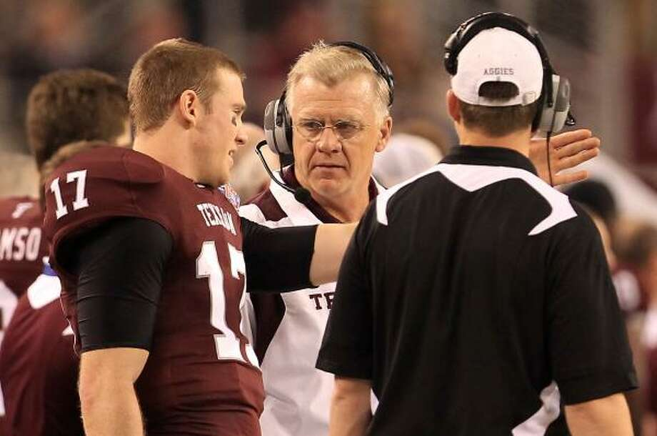 If Bill Byrne continues to hire the right coaches — and he has a pretty good track record — the Aggies will hold their own in any conference. Photo: Nick De La Torre, Chronicle