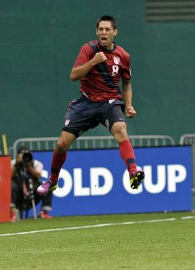 Clint Dempsey and Team USA face Panama at 6 p.m. tonight in the Gold Cup semifinals at Reliant Stadium. Mexico plays Honduras in the nightcap. Photo: Cliff Owen, Associated Press