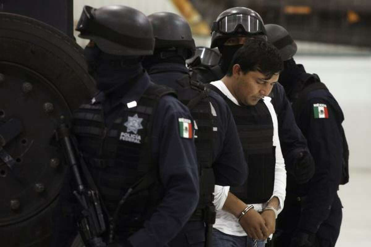 Jesus Enrique Aguilar was arrested in Atizapan.