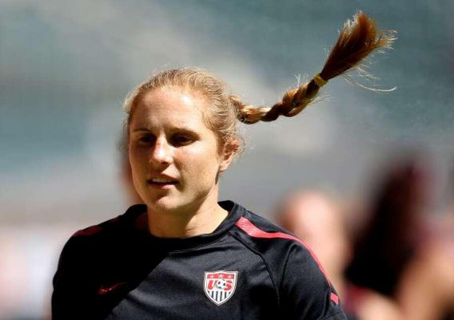Defender Rachel Buehler has fond memories of Team USA's 1999 World Cup run. Photo: Scott Heavey, Getty