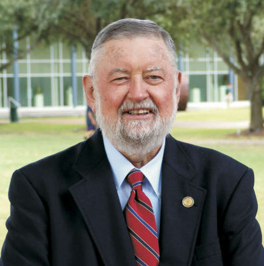 Richard Nevle started out as a history teacher at Strake Jesuit College Preparatory in 1967 and eventually became a principal. Photo: Handout Photo