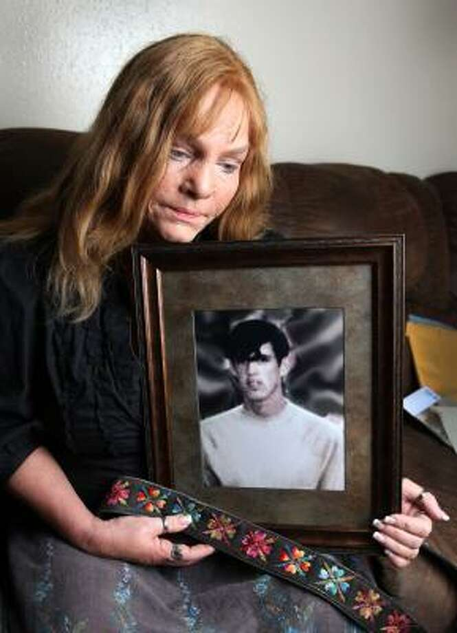 """Sandy Henrichs was 14 when her brother, Steven, disappeared. Now 53, she regrets squabbling with him earlier that day, but also strong is her anger at the Houston police: """"They didn't do anything."""" Photo: Alan Warren, Chronicle"""