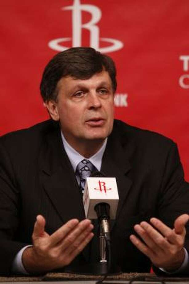 Kevin McHale is scheduled to make his Rockets coaching debut against the Jazz on Nov. 1. Photo: Eric Kayne, For The Chronicle