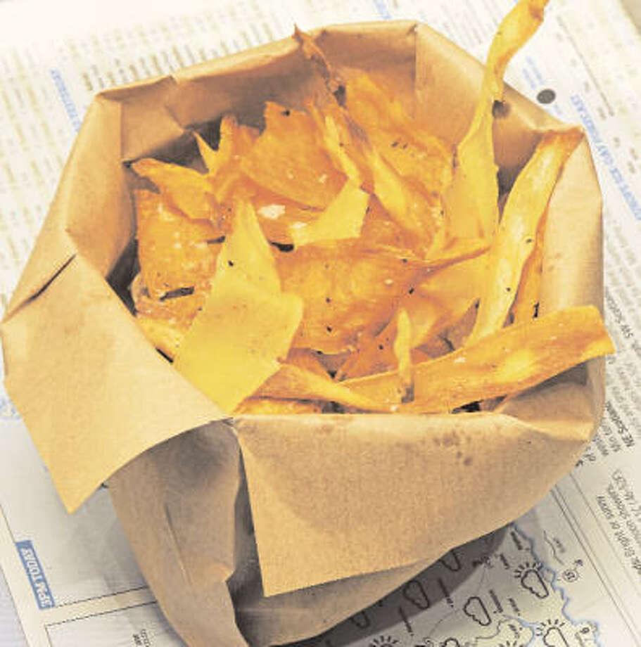 Vegetable Chips Photo: Alberto Peroli
